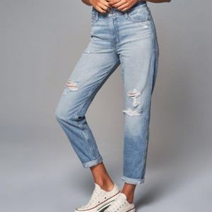 *2 Pairs for 35* Abercrombie Girlfriend Jeans